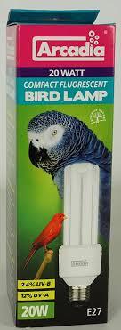 uv light for birds arcadia fbc20x bird l compact 20w uv le für exoten e27