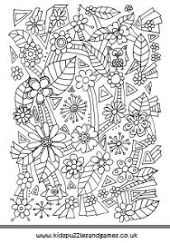 flowers kids puzzles and games
