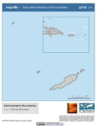 Anguilla Map Map Gallery Sedac
