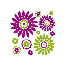 fleurs dans une chambre stickers fleurs stickers trompe l œil en vente en ligne sur