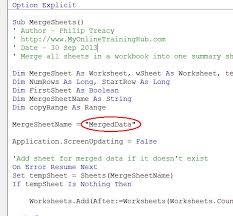merge excel worksheets with vba u2022 my online training hub