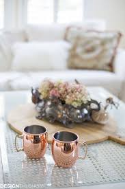 how to decorate with a soft autumn color palette