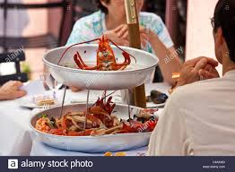 thanksgiving dinner savannah ga seafood platter at the olde pink house restaurant savannah
