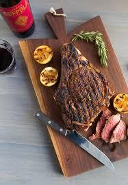 italian style grilled rib eye steak chez us
