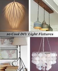 Diy Light Fixtures Diy Lighting Fixtures