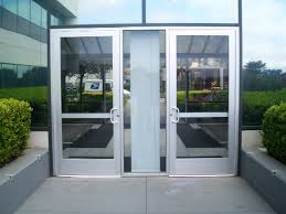 Exterior Doors Commercial Commercial Glass Entry Doors With Aluminum Frames