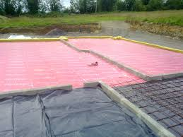 Building A Concrete Block House Concrete Floor Slab Preparation House Self Build