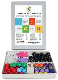 molecular model kit with molecule structure building software