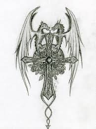 celtic cross dragon tattoo pictures to pin on pinterest tattooskid