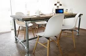 Esszimmertisch Quentin Tisch Industrie Stil Massiv Modern Neu Gerüst Holz Esstisch