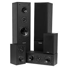 new home theater technology fluance surround sound home theater 5 speaker system model avhtb
