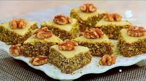cuisine alg駻ienne gateaux recettes gâteau triangles de noix et amandes hd recette facile la cuisine