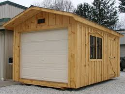 shed styles garage door sheds shanty genuine sheds