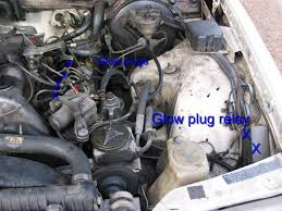 my mercedes deisel engine gloplug heater quit what should i look for