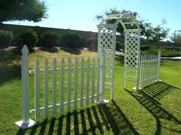 wedding arches at walmart 2 foot high garden fence flower bed and lawn small garden