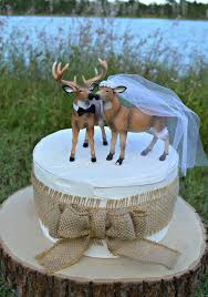 buck and doe wedding cake topper doe and buck cake topper deer wedding cake topper