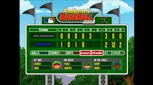 backyard baseball bombers vs melonheads home part 2 youtube