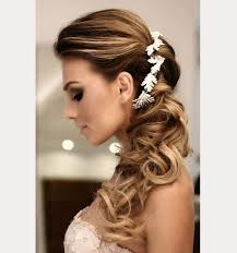side hair side swept wedding hairstyles to inspire mon cheri bridals