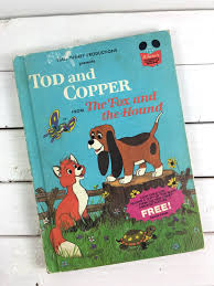 tod and copper from the fox and the hound book club edition