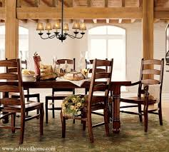 luxurious but antique brown wooden dining set with