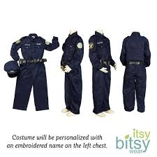 kids swat halloween costum kids halloween costume police officer costume personalized