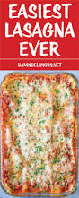 thanksgiving lasagna recipe easiest lasagna ever damn delicious