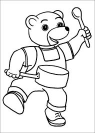 Coloriage204 coloriage petit ours brun à imprimer