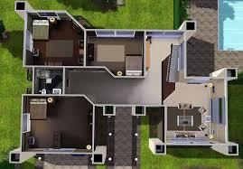 Lego House Floor Plan Sims 3 Modern House Ideas