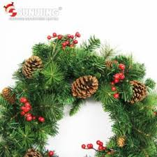 Christmas Wreath Decorations Wholesale by China 2017 Wholesale Cheap Artificial Christmas Wreaths For