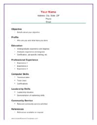 easy resume format download spelndid easy resume template basic resumes resume job