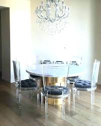 Clear Dining Room Table Stunning Acrylic Dining Room Table Images Liltigertoo