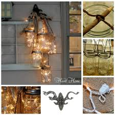 Mason Jar Lights Diy Wall Mounted Mason Jar Light Diy Cozy Home