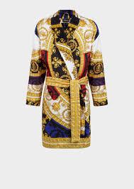robe de chambre leopard versace peignoir pour homme boutique en ligne fr
