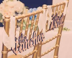 wedding chair signs 10 adorable wedding chair signs chair covers weddbook