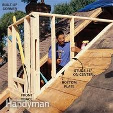 Building A Dormer How To Frame A Gabled Dormer Family Handyman
