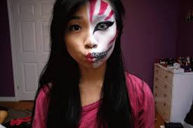 fun size beauty halloween bleach manga ichigo hollow mask makeup