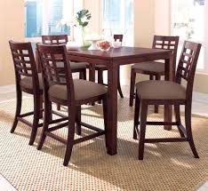 stylish decoration tall square dining table homey ideas tall wood