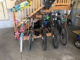easy to build garage bike rack simple u0026 clean design youtube