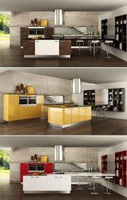Kitchen Cabinets Mdf China Modern Wood Grain Mdf Kitchen Cabinets Op15 Pp03 China