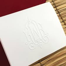 embossed stationery stationery whitlock jpg