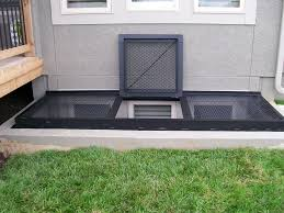 window well cover ideas egress window well cover custom metal