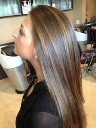 pictures of blonde highlights on natural hair n african american women chocolate golden brown hair with naturally hand painted highlights