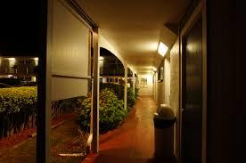 walkway at night at the tides motel the tides motel of falmouth