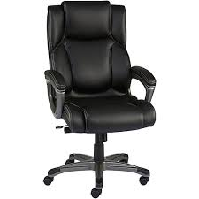 Leather Office Chair Staples Washburn Bonded Leather Office Chair Black Staples
