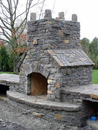 how to build outdoor fireplace home and gardening