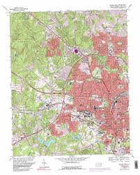 Raleigh Map Raleigh West Topographic Map Nc Usgs Topo Quad 35078g6