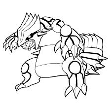 dessin à colorier pokemon legendaire zekrom