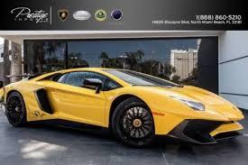 lamborghini aventador color options lamborghini aventador in miami fl for sale used cars on