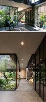Interior Courtyard This Contemporary House In Mexico Is Surrounded By Nature