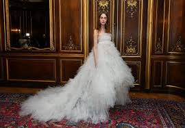 designer wedding dress bridal fashion week new york 2018 fairy tale designer